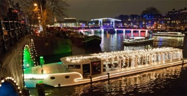 Christmas Canal Parade Amsterdam
