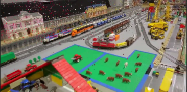 Lego World 2014 in de Jaarbeurs Utrecht