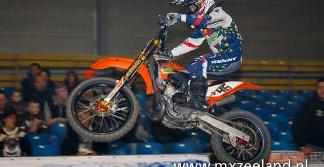 Supercross in Zeelandhallen Goes