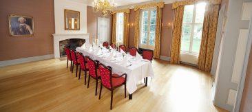 Vergaderen in luxe op een Limburgs kasteel