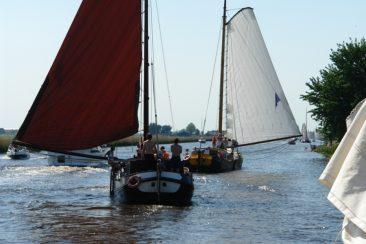 Review TIP: Zeilen over de Friese meren met een skutsje