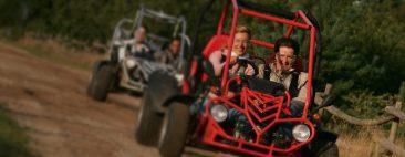 Teamuitje op de Veluwe – buggy rijden, bowlen en nachtje slapen